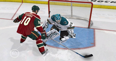 Enhandsfattningen i NHL 09 är en av nyheterna i årets upplaga.