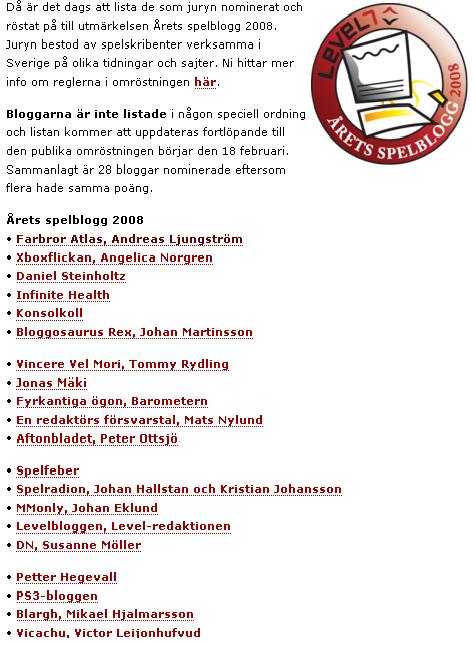 arets-spelblogg